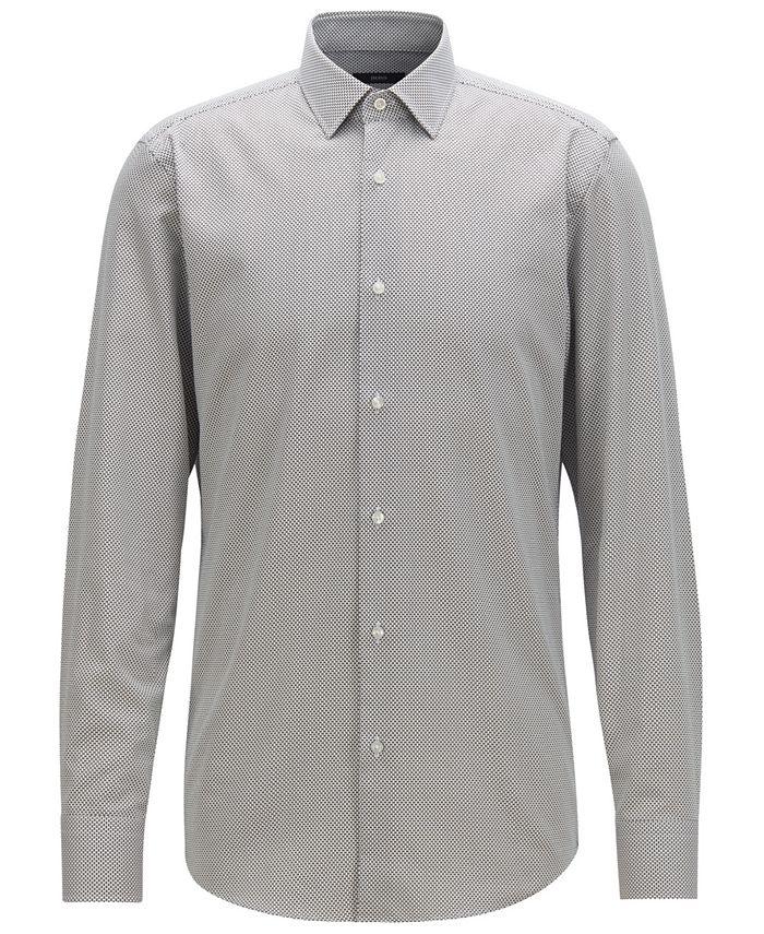 Hugo Boss - Men's Slim Fit Cotton Shirt