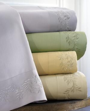300 Thread Count Laurel Leaf California King Sheet Set Bedding