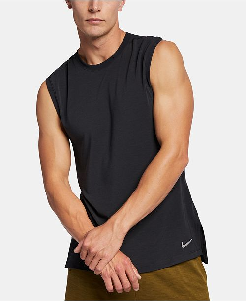 Nike Men's Dri-FIT Training Tank Top & Reviews - T-Shirts ...