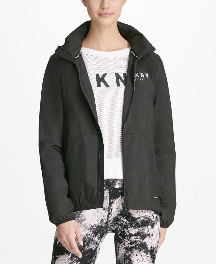 DKNY - Convertible Hooded Windbreaker