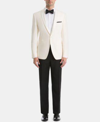 Men's UltraFlex Classic-Fit Twill Dinner Jacket
