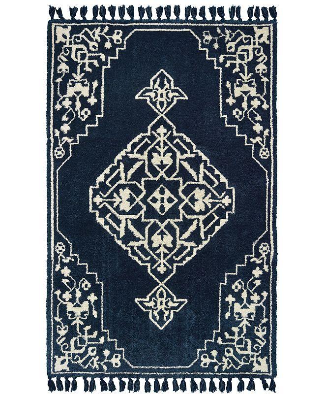 Oriental Weavers Madison 61410 Blue/Ivory 5' x 8' Area Rug