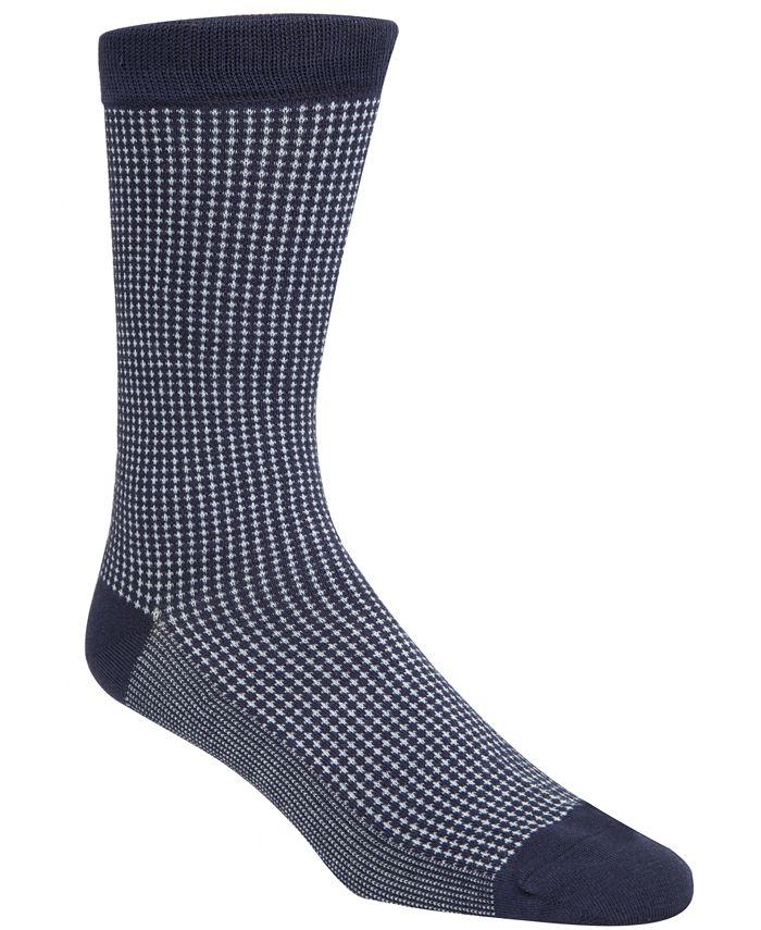 Cole Haan - Men's Checked Crew Socks