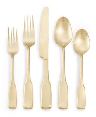 Fiddlehead Champagne 20-Pc. Flatware Set, Service for 4, Created for Macy's