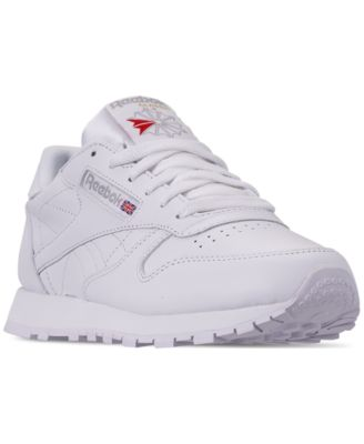 Classic Leather Casual Sneakers from