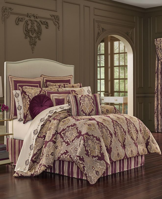 J Queen New York J Queen Amethyst Bedding Collection