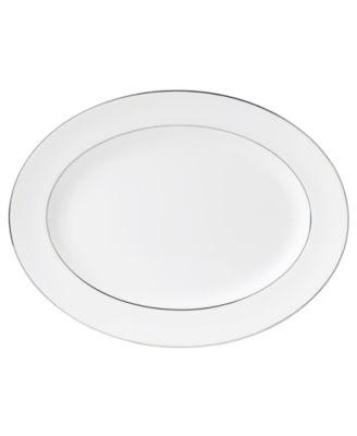 Wedgwood Signet Platinum Large Oval Platter