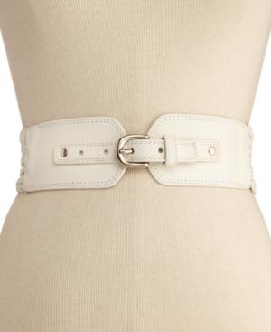 Steve Madden Belt Woven Braid Stretch Plus Size