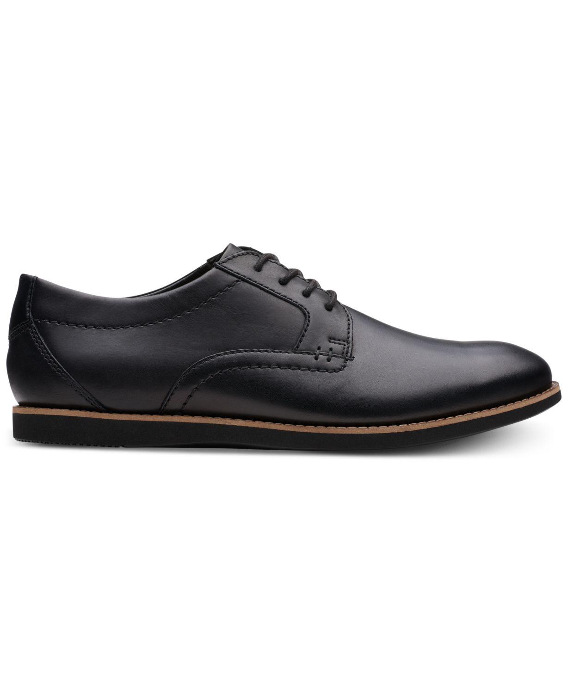 Clarks Men's Raharto Plain-Toe Oxfords & Reviews - All Men's Shoes - Men - Macy's