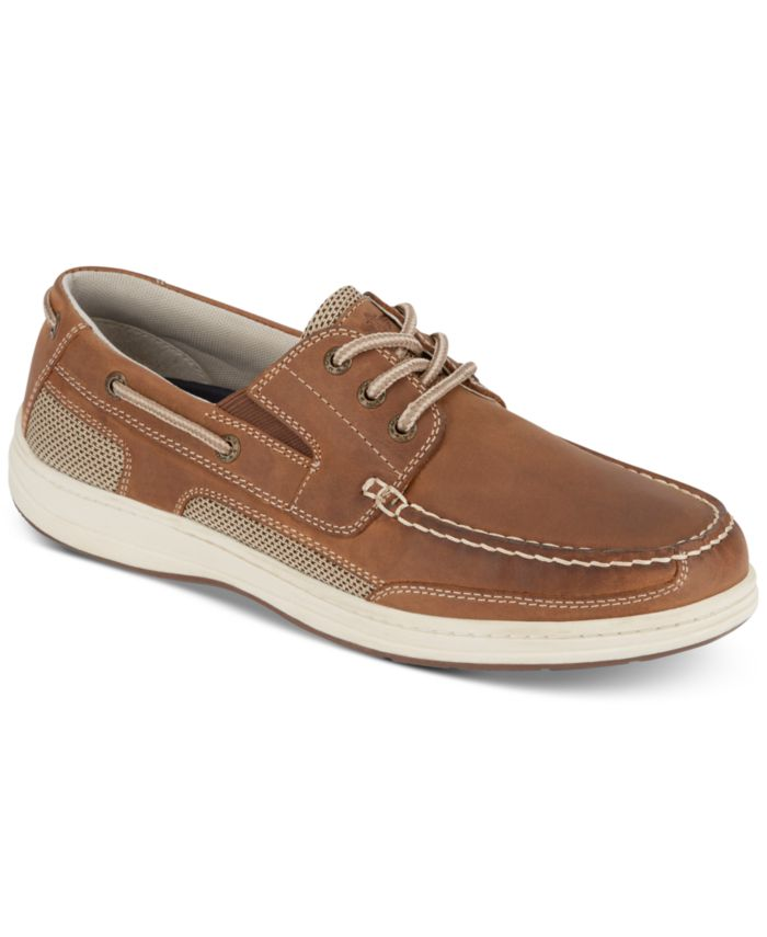 Dockers Men's Beacon Leather Casual Boat Shoe with NeverWet & Reviews - All Men's Shoes - Men - Macy's