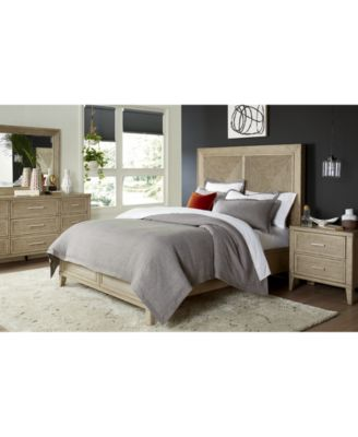 CLOSEOUT! Beckley Queen Bed, Created for Macy's
