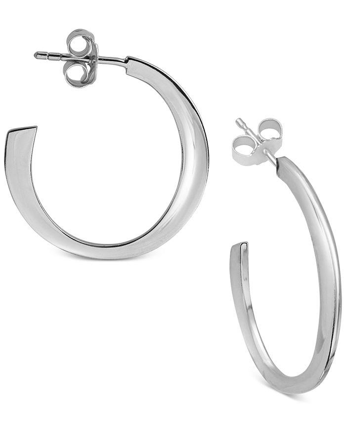 Argento Vivo - Flat Hoop Earrings