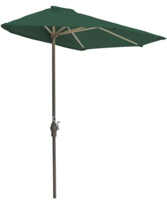 OFF-THE-WALL BRELLA, 9' Wide Half Umbrella, SolarVista Fabric