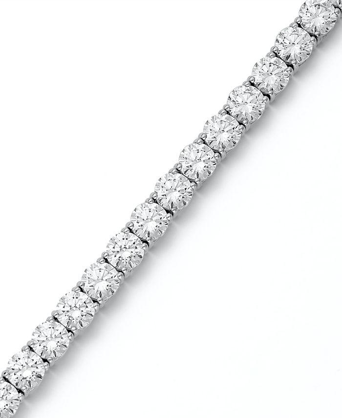 Arabella - Sterling Silver Bracelet, Swarovski Zirconia Tennis Bracelet (31 ct. t.w.)