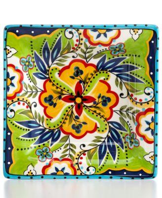 Espana Bocca Square Salad Plate