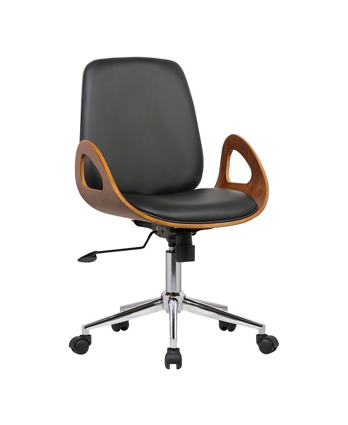 Armen Living - Wallace Office Chair, Quick Ship