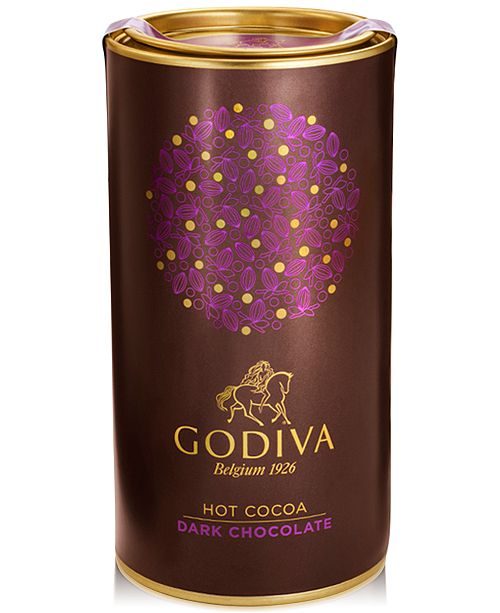 Godiva Dark Chocolate Cocoa Canister Reviews Food Gourmet Gifts Dining Macy S
