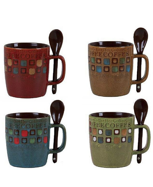 Mr Coffee Mr. Coffee Cafe Americano 13 Ounce Mug Set