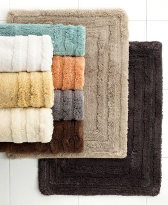 "CLOSEOUT! Hotel Collection Luxe 20"" x 25"" Bath Rug"