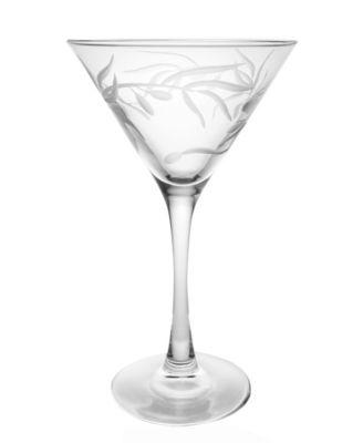 Olive Martini 10Oz - Set Of 4 Glasses