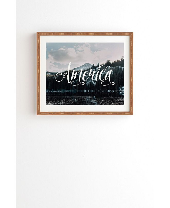 Deny Designs American Beauty Framed Wall Art