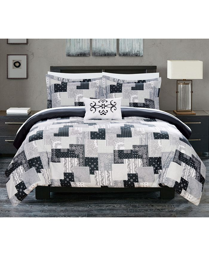 Chic Home - Utopia 8 Piece Bed In a Bag Duvet Sets