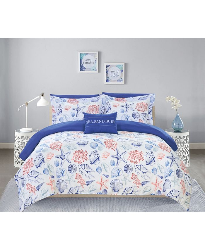 Chic Home - Dalis 8-Pc. Bed In a Bag Comforter Sets