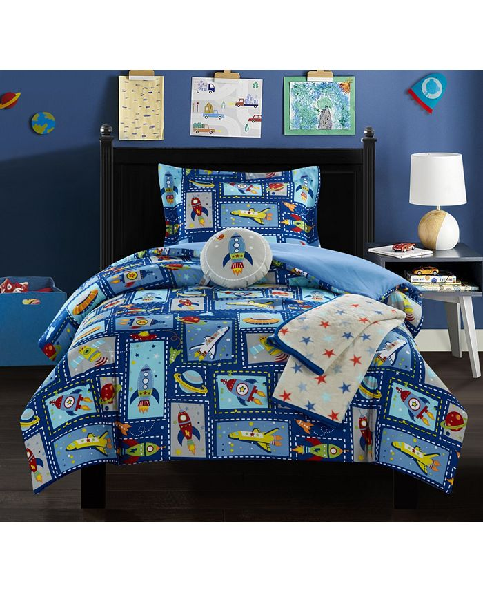 Chic Home - Spaceship 5-Pc. Comforter Sets