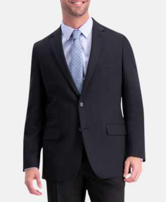 Men's Active Series Herringbone Classic-Fit  Suit Separate Jacket