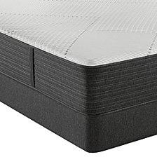 """Beautyrest Hybrid BRX1000-IP 13.5"""" Medium Firm Mattress Set - King"""