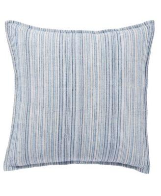 """Taye Stripe Poly Throw Pillow 22"""""""