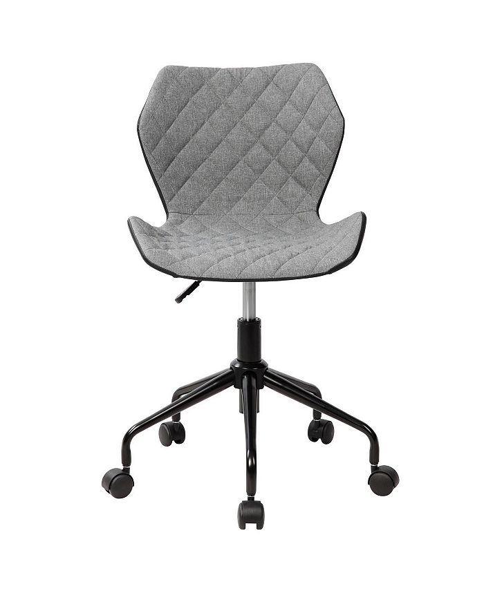 RTA Products - Techni Mobili Deluxe Modern Office Armless Task Chair, Quick Ship