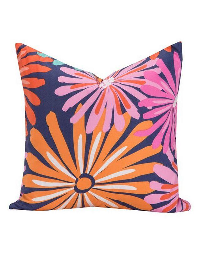 "Crayola Dreaming of Daisies 26"" Designer Euro Throw Pillow"