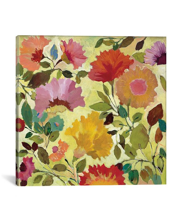 "iCanvas ""Nasturtiums"" By Kim Parker Gallery-Wrapped Canvas Print - 37"" x 37"" x 0.75"""