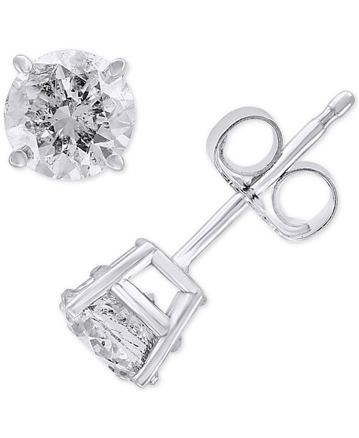 EFFY Collection - Diamond Stud Earrings (1 ct. t.w.) in 14k White Gold