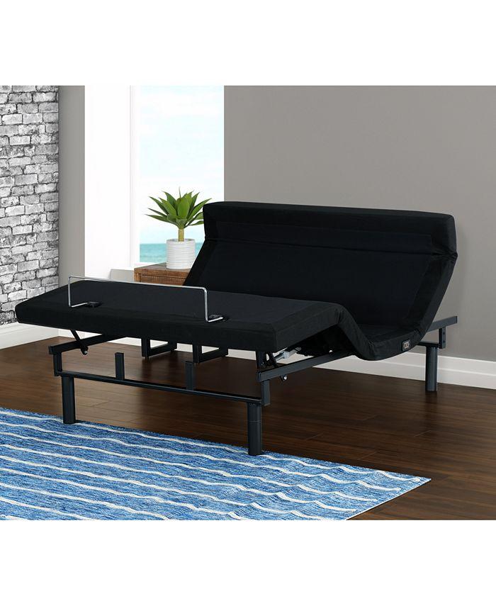Primo International - Felipe Upholstered Adjustable Bed- Twin