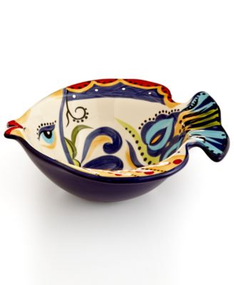 Espana Bocca Geo Fish Cereal Bowl