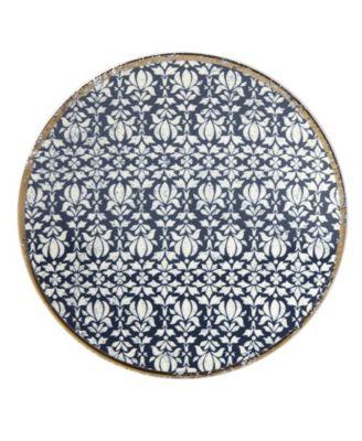 Global Tapestry Sapphire  Dessert Plate