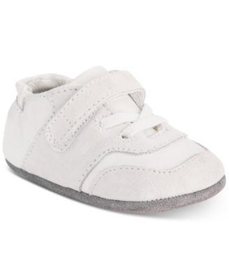 Robeez Baby Boys Mini Oakley White