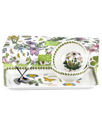 Portmeirion Serveware, Botanic Garden 5 Piece Entertaining Set
