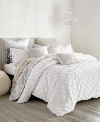 Linear Loop King Comforter Set