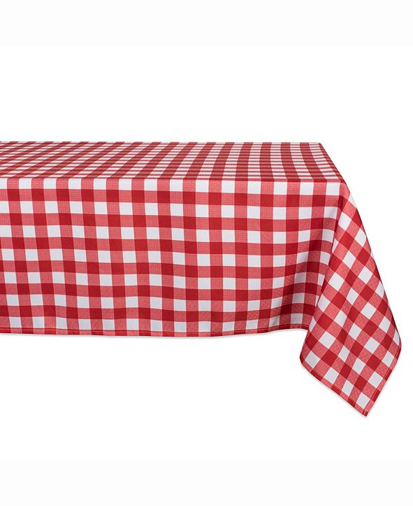 """Design Imports Outdoor Table cloth 60"""" X 120"""""""