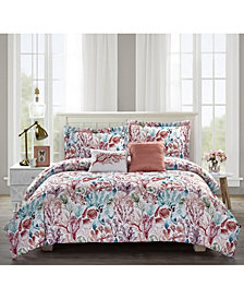 Bloom by Sara Berrenson 5-Piece Comforter Set, King