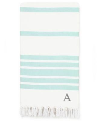 Personalized Herringbone Pestemal Beach Towel