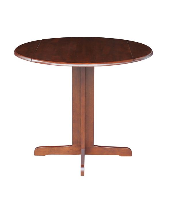 International Concepts Dual Drop Leaf Table - 36""