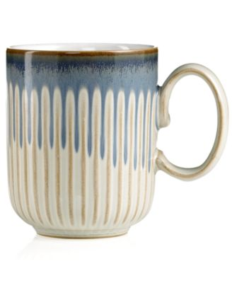 Denby Mug, Fluted Linen