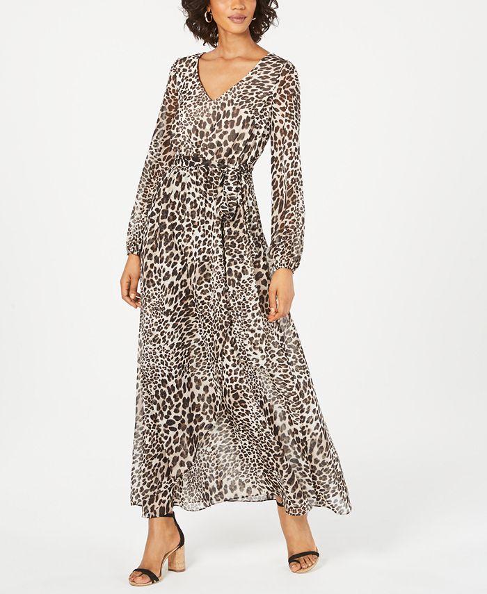 Inc International Concepts Inc Animal Print Maxi Dress Created For Macy S Reviews Dresses Women Macy S