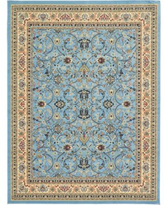 "Arnav Arn1 Light Blue 9' 10"" x 13' Area Rug"