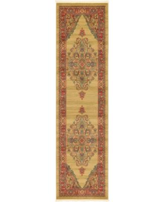 "Harik Har9 Tan 2' 7"" x 10' Runner Area Rug"