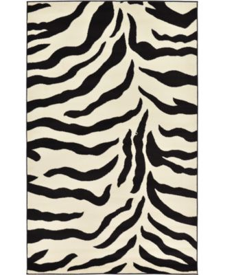 Maasai Mss3 Ivory 5' x 8' Area Rug